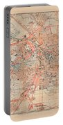 Map Of Berlin 1895 Portable Battery Charger