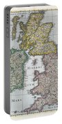 Map Of Britain Portable Battery Charger
