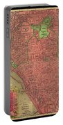 Map Of Buffalo 1896 Portable Battery Charger