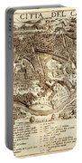 Map Of Cairo 1575 Portable Battery Charger