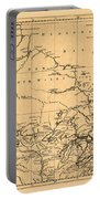 Map Of Canada 1762 Portable Battery Charger