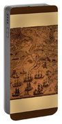 Map Of Cape Breton 1764 Portable Battery Charger