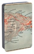 Map Of Capri 1909 Portable Battery Charger