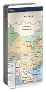 Map Of China Portable Battery Charger