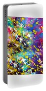 Map Of Colorado-colorful Portable Battery Charger