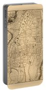Map Of Cork 1771 Portable Battery Charger