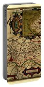 Map Of Cremona 1579 Portable Battery Charger