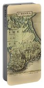 Map Of Crimea 1815 Portable Battery Charger