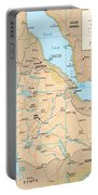Map Of Ethiopia Portable Battery Charger