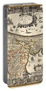Map Of Holland 1630 Portable Battery Charger