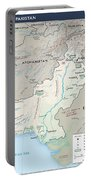 Map Of Pakistan2  Portable Battery Charger