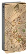 Map Of San Jose 1886 Portable Battery Charger