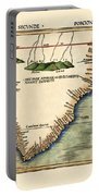 Map Of South Africa 1513 Portable Battery Charger