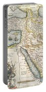 Map Of The Middle East From The Sixteenth Century Portable Battery Charger
