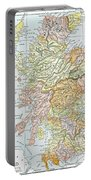 Map: Scotland Portable Battery Charger