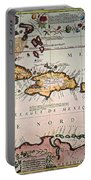 Map: West Indies Portable Battery Charger