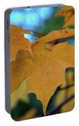 Maple Leaves In Autumn Portable Battery Charger