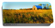 Maple Ridge Fall Barn Portable Battery Charger