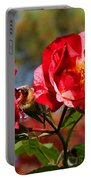Maple Ridge Fall Roses Portable Battery Charger