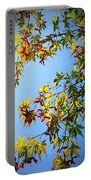 Maple Seeds In September Portable Battery Charger