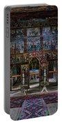 Maramures Romania Church Interior Portable Battery Charger