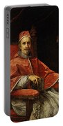 Maratti Carlo Portrait Of Pope Clement Ix Portable Battery Charger