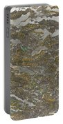 Marble Bark Colored Abstract Portable Battery Charger