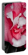 Marble Camellia Portable Battery Charger