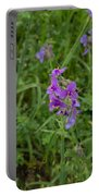 Marble Falls Texas Purple Puzzle Portable Battery Charger