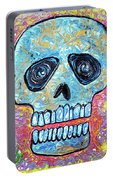 Marble Skull  Portable Battery Charger