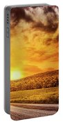 Marbled Sky Portable Battery Charger