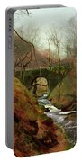March Morning Portable Battery Charger by John Atkinson Grimshaw