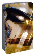 Marci Gras In Abstract Portable Battery Charger