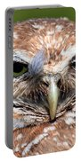 Marco Burrowing Owl - I Know What You're Thinking Portable Battery Charger