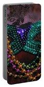 Mardi Gras Feminine Mystique Portable Battery Charger