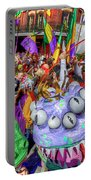 Mardi Gras Mob Portable Battery Charger