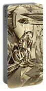 Mardi Gras - New Orleans 3 - Sepia Portable Battery Charger