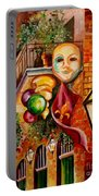 Mardi Gras Night Portable Battery Charger