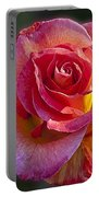 Mardi Gras Rose Portable Battery Charger