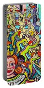 Mardi Gras - Throw Me Something Mister Portable Battery Charger