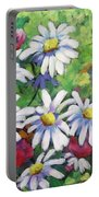 Marguerites 001 Portable Battery Charger