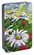Marguerites 002 Portable Battery Charger