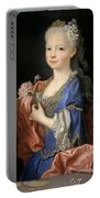 Maria Anna Victoria Of Bourbon. The Future Queen Of Portugal Portable Battery Charger