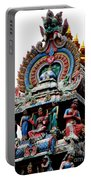 Mariamman Temple Detail 3 Portable Battery Charger