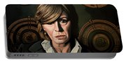 Marianne Faithfull Painting Portable Battery Charger