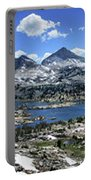 Marie Lake Panorama From High Above - John Muir Trail Portable Battery Charger