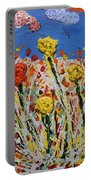 Marigold Flower Garden Portable Battery Charger