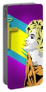 Marilyn Portable Battery Charger
