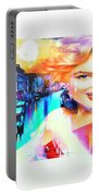 Marilyn In Italy Portable Battery Charger