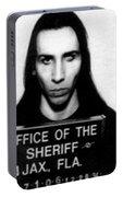 Marilyn Manson Mug Shot Vertical Portable Battery Charger